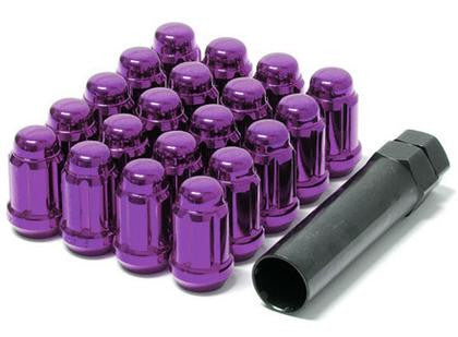 Muteki Lug Nuts 12x1.25 Closed End Purple