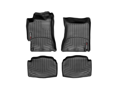 Weathertech Floorliners Black Front and Rear Subaru WRX 02-07/STI 04-07