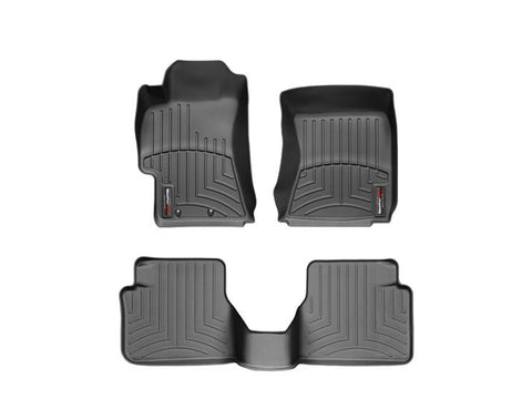 COBB x WeatherTech Floorliners Front and Rear - Black Subaru WRX 08-14/STI 08-14