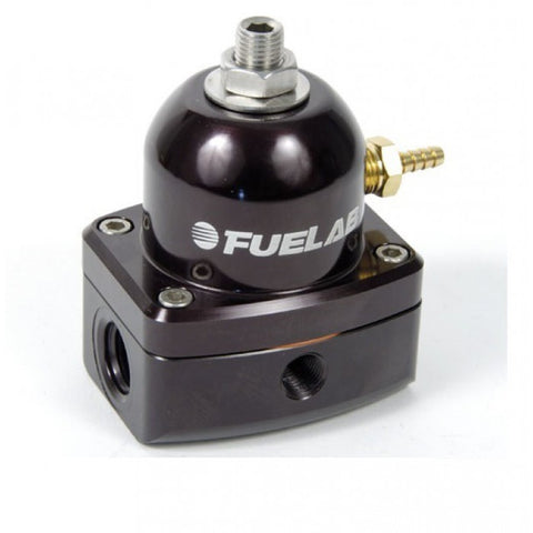 Fuelab Black EFI In-Line Adjustable Mini Fuel Pressure Regulator