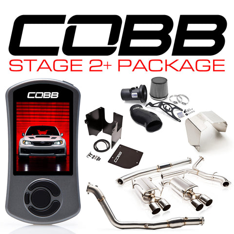 COBB Tuning Stage 2+ Power Package Blue Silicone Sedan Subaru STI 11-14