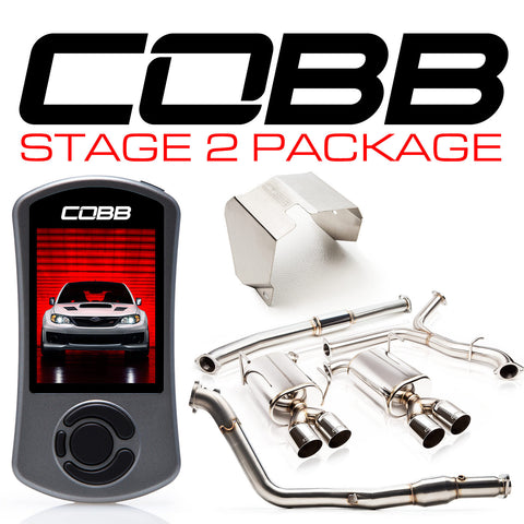 COBB Tuning Stage 2 Power Package Subaru STI 11-14 Sedan
