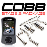 COBB Tuning Stage 2 Power Package (Resonated J-Pipe) Subaru WRX 15-18