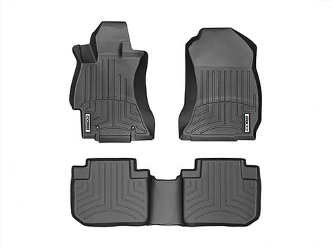 COBB x WeatherTech Floorliner Front and Rear Subaru Forester XT 14-17