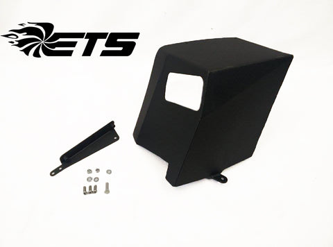 ETS Air Intake Heat Shield Wrinkle Black Subaru WRX 15-18