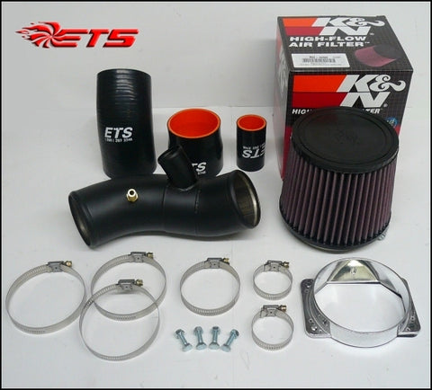 ETS Air Intake Kit Wrinkle Black Mitsubishi EVO 8/9 03-06