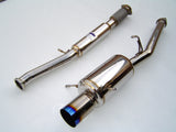Invidia G200 Cat Back Exhaust Titanium Tip Subaru WRX 02-07/STI 04-07
