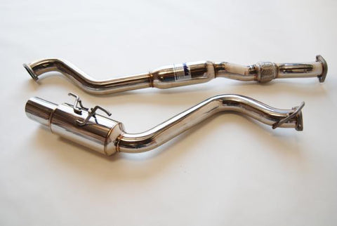 Invidia N1 Cat Back Exhaust Subaru WRX 08-14 (Hatchback)