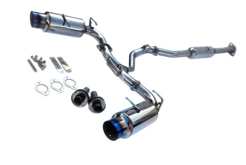 Invidia N1 Cat Back Exhaust Titanium Tips Subaru BRZ 13-16