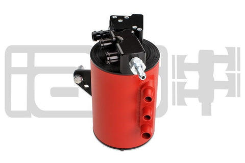 IAG Performance Street Series Air Oil Separator Red Subaru WRX 06-07/STI 04-07