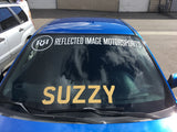 Reflected Image Motorsports Windshield Banner