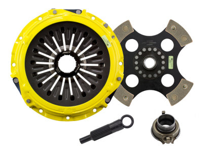 ACT Heavy Duty Solid 4-Puck Disc Clutch Kit Mitsubishi EVO 8/9 03-06