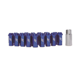 Mishimoto Aluminum Locking Lug Nuts Blue 12x1.25