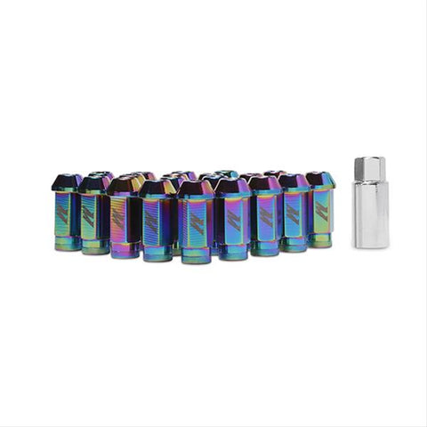 Mishimoto Aluminum Locking Lug Nuts Neo Chrome 12x1.25
