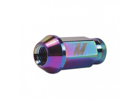Mishimoto Aluminum Locking Lug Nuts M12 x 1.5 - Neo Chrome
