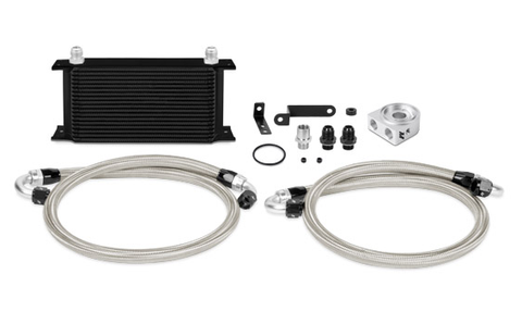 Mishimoto Oil Cooler Kit Black Subaru STI 08-14