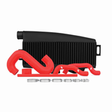 Mishimoto Black Top Mount Intercooler w/ Red Hoses Subaru WRX 02-07/STI 04-07