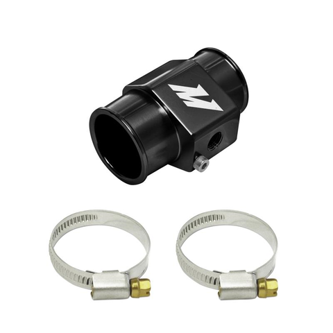 Mishimoto Water Temperature Sensor Adapter Black 38mm