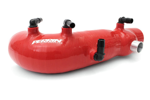 Perrin Turbo Inlet Hose Red Subaru WRX 02-07/STI 04-17/Forester XT 04-08