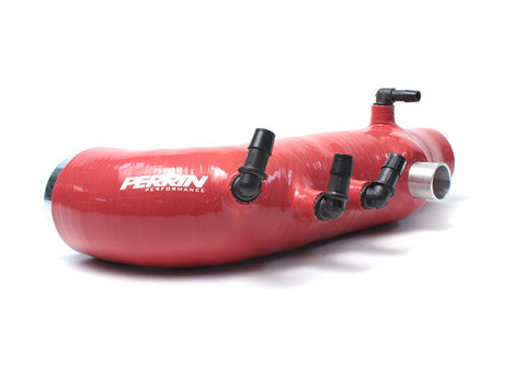 Perrin Turbo Inlet Hose Red Subaru WRX 08-14/Legacy GT 05-09/Forester XT 09-13