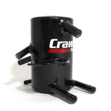 Crawford FMIC Air Oil Separator Black Subaru WRX 02-07/STI 04-07