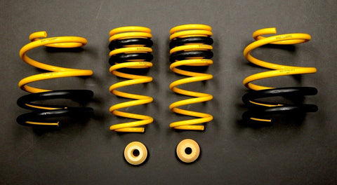 Racecomp Engineering Yellow Lowering Springs Subaru STI 15-17
