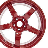 Gram Lights 57CR 18x9.5 +38 5x100 Milano Red