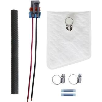 Walbro 450Lph Fuel Pump w/Install Kit