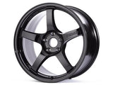 Gram Lights 57CR 18x10.5 +22 5x114.3 Gloss Black