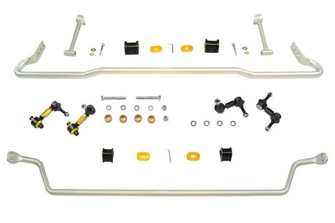Whiteline Front and Rear 22mm Sway Bar Kit with Endlinks Subaru WRX 08-14 / STI 08-14