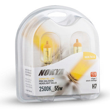 Nokya Hyper Yellow Headlight Bulbs H11 55W