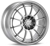 Enkei NT03+M 18x9.5 5x114 27mm Offset 72.6mm Bore Silver Wheel