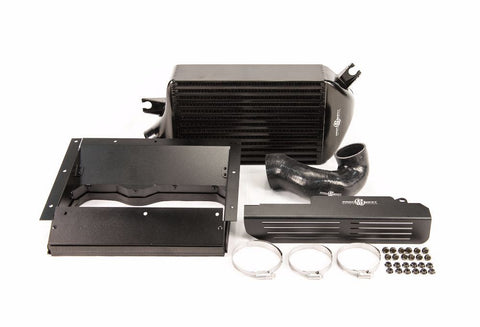 Process West Khanacooler Top Mount Intercooler Black Subaru WRX 15-18