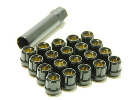 Muteki Lug Nuts 12x1.50 Open Ended Black