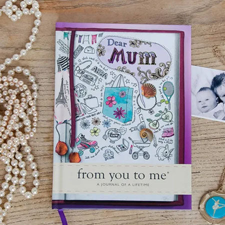 Notebook Prompts Gift for Mum - mother's day gift idea