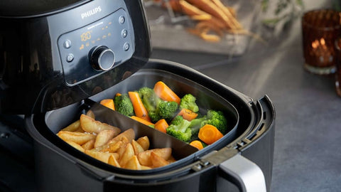 Air Fryer for cooking safely
