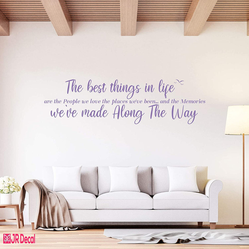 The best thing in life- Inspirational quotes Wall Stickers