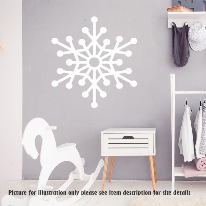 Snowflake Wall sticker for Christmas wall Decoration