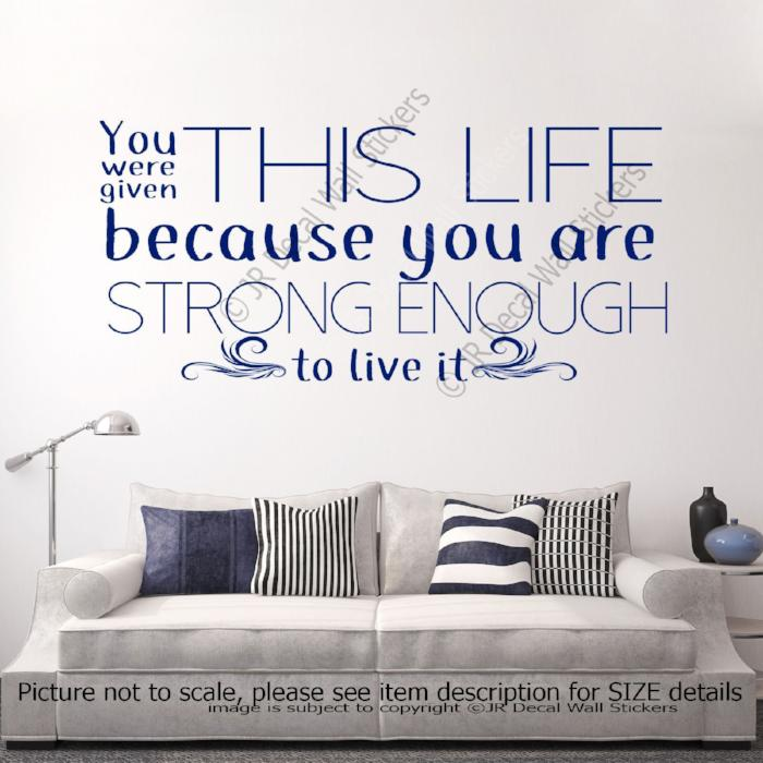 Gallery of inspirational quote wall decals fabulous homes inspirational quote wall decals amipublicfo Images