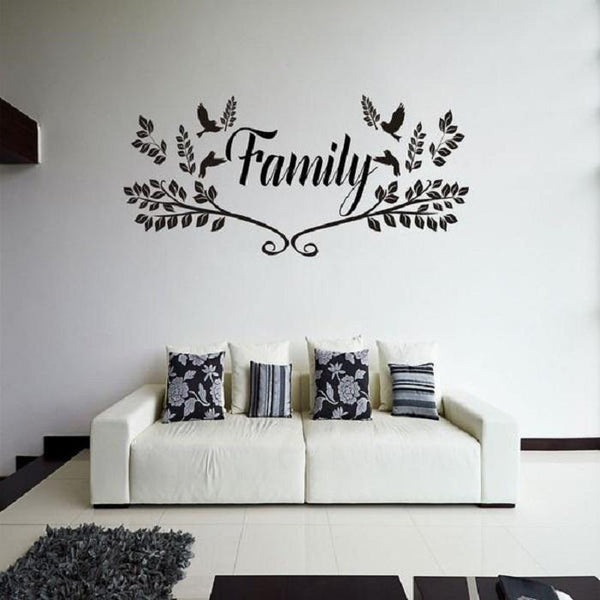 Family Love Removable vinyl Wall Art Stickers