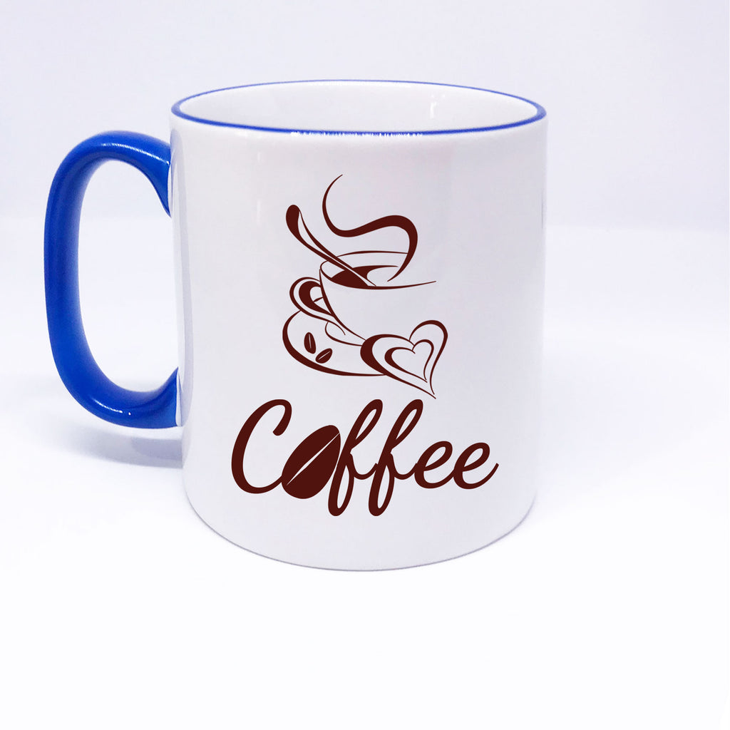 Beautiful Coffee Cup Printed Gift Mug