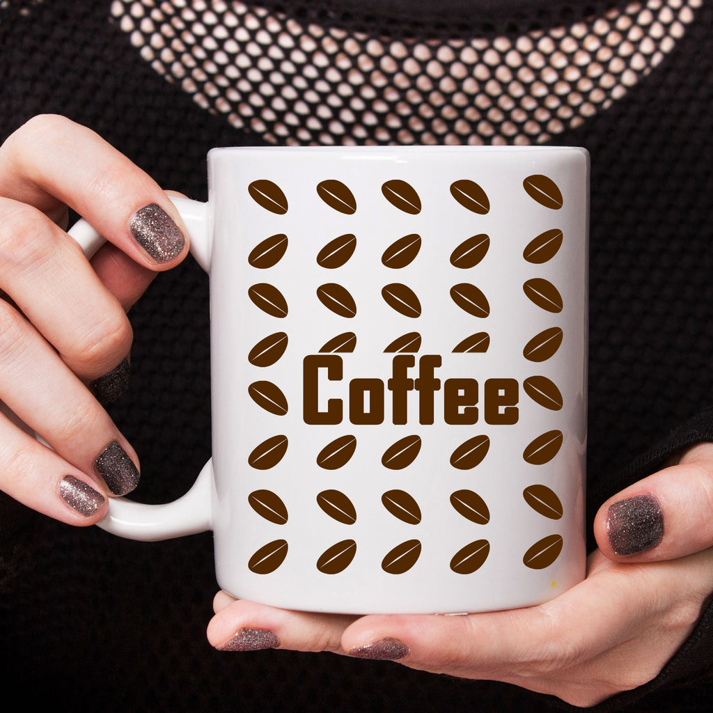 Coffee Beans printed Coffee Mugs