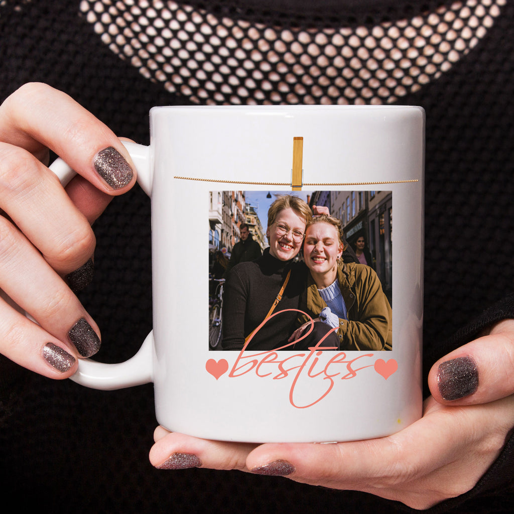 Customized Photo Printed Mug for Best friend