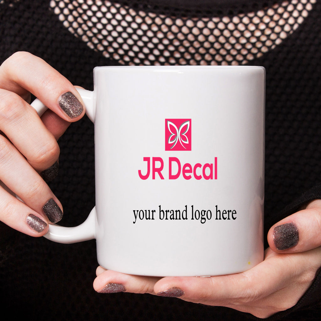 Your Brand Logo printed Customizable coffee mug