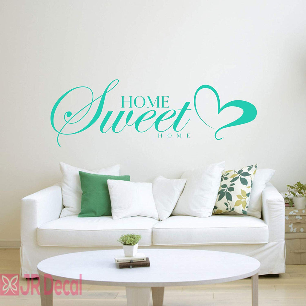 Home Sweet Home- Living Room quotes nursery wall stickers