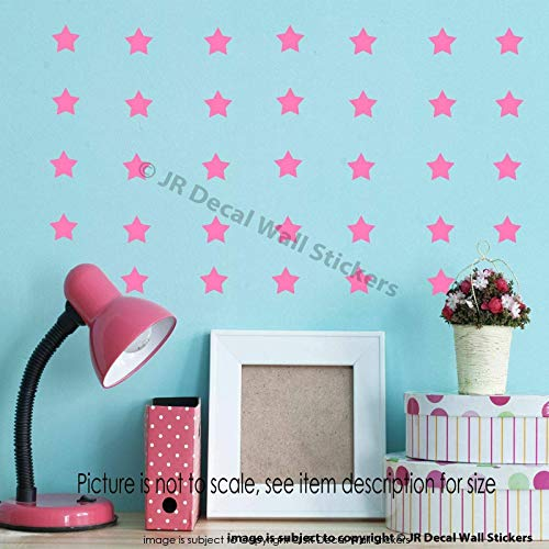 110 pieces 3cm Star Wall Stickers Removable vinyl wall decals