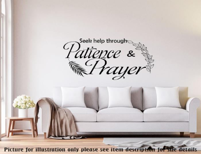 prayer Islamic Wall Art Sticker