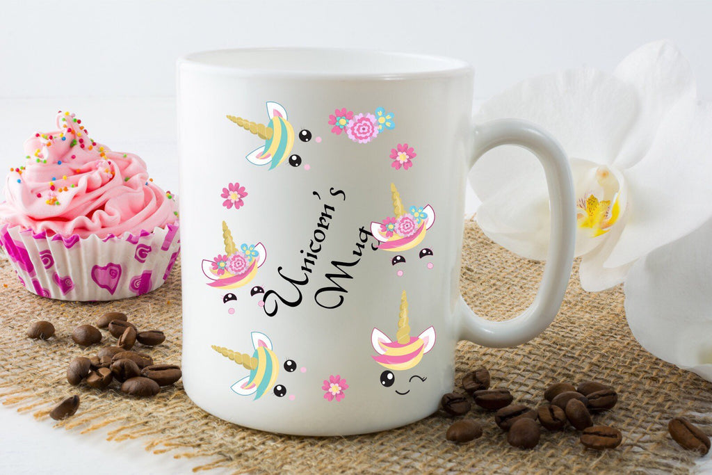 Unicorn's Mug - Kids Tea Mugs