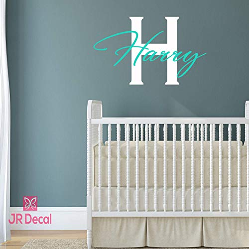 Boy Personalized name sticker wall stickers vinyl Wall decal