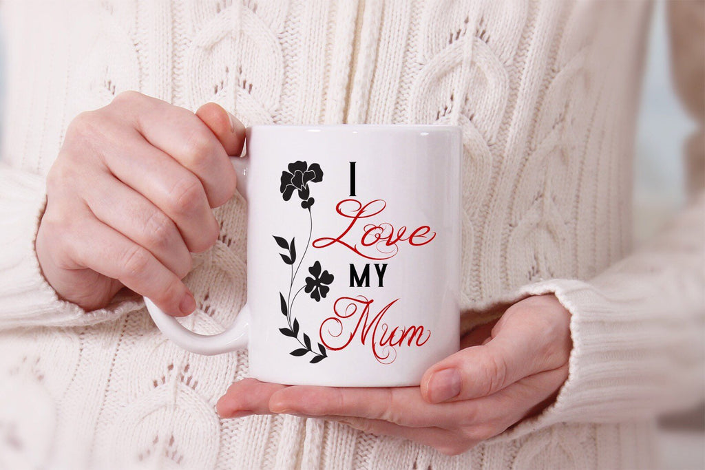 """I love you Mum""- Printed Mothers Day Mug"